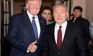 О чём Назарбаев говорил с Трампом