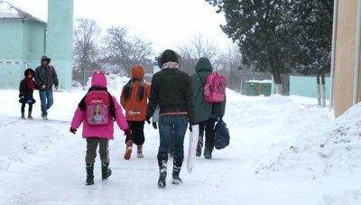 Ученические занятия из-за морозов впервый раз за множество лет отменят вАлматы